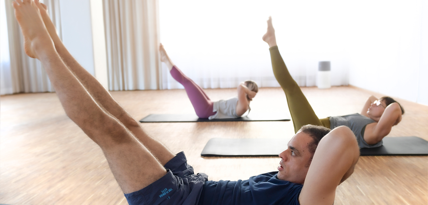 Double Straight Leg Stretch, Pilates