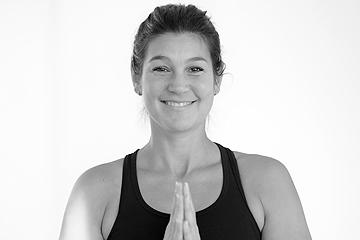 Lisa, Yoga-Lehrerin